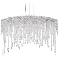 Schonbek CH4812N-401H Chantant 8 Light 22 inch Stainless Steel Pendant Ceiling Light in Heritage Strand