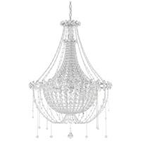 Schonbek CM8326N-401A Chrysalita 6 Light 26 inch Stainless Steel Chandelier Ceiling Light