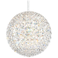 Schonbek DV1212A Da Vinci 12 Light 12 inch Stainless Steel Pendant Ceiling Light in Spectra, Geometrix