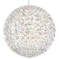 Schonbek DV1515A Da Vinci 16 Light 15 inch Stainless Steel Pendant Ceiling Light in Spectra, Geometrix
