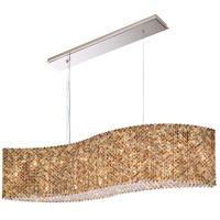 Schonbek RE4821A Refrax 21 Light 48 inch Stainless Steel Pendant Ceiling Light in Spectra, Geometrix