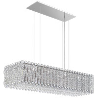 Schonbek RS8344N-401S Sarella 13 Light 37 inch Stainless Steel Island Light Ceiling Light in Swarovski Polished Stainless Steel