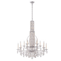 Schonbek RS8415N-48H Sarella 17 Light 41 inch Antique Silver Foyer Ceiling Light in Heritage