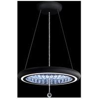 Schonbek MFC200N-BK1S Infinite Aura LED 23 inch Black Pendant Ceiling Light