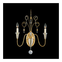 Schonbek Timbrel 2 Light Wall Sconce in French Gold and Vintage Crystal 6902-26CL photo thumbnail