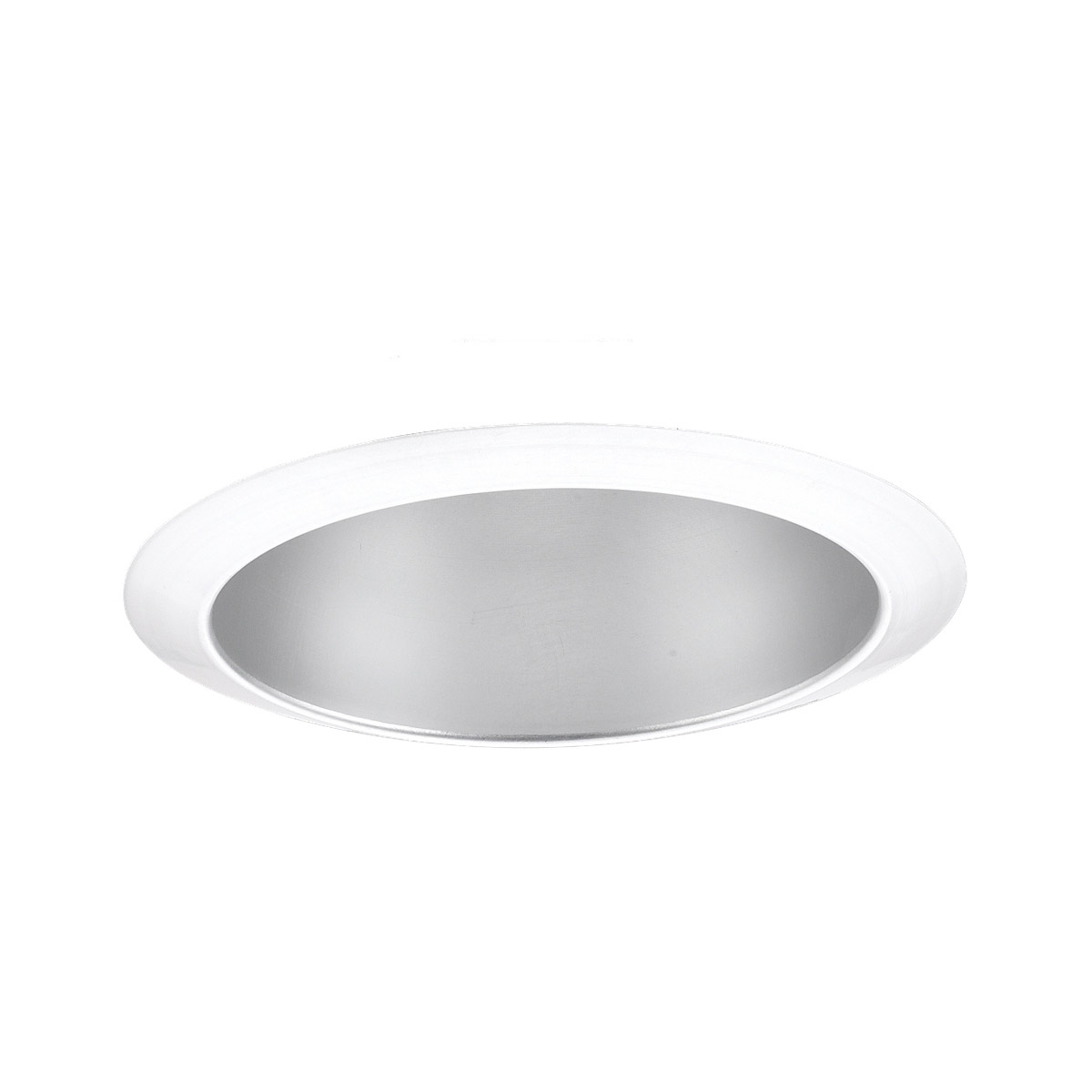 Sea Gull Lighting Signature Recessed Trim Only in Satin Nickel - White 11032AT-861