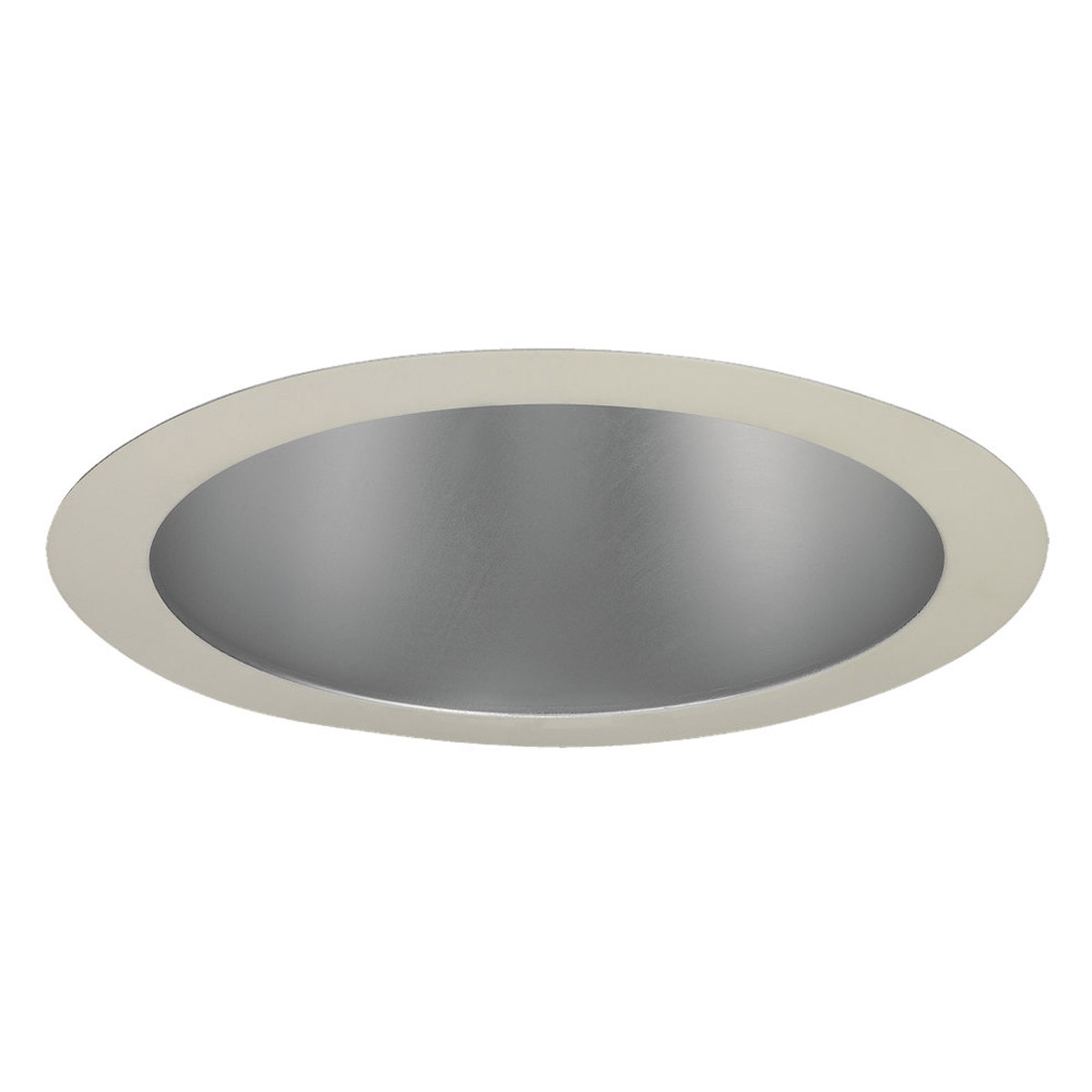 Sea Gull Lighting Signature Recessed Trim Only in Satin Nickel - White 11132AT-861
