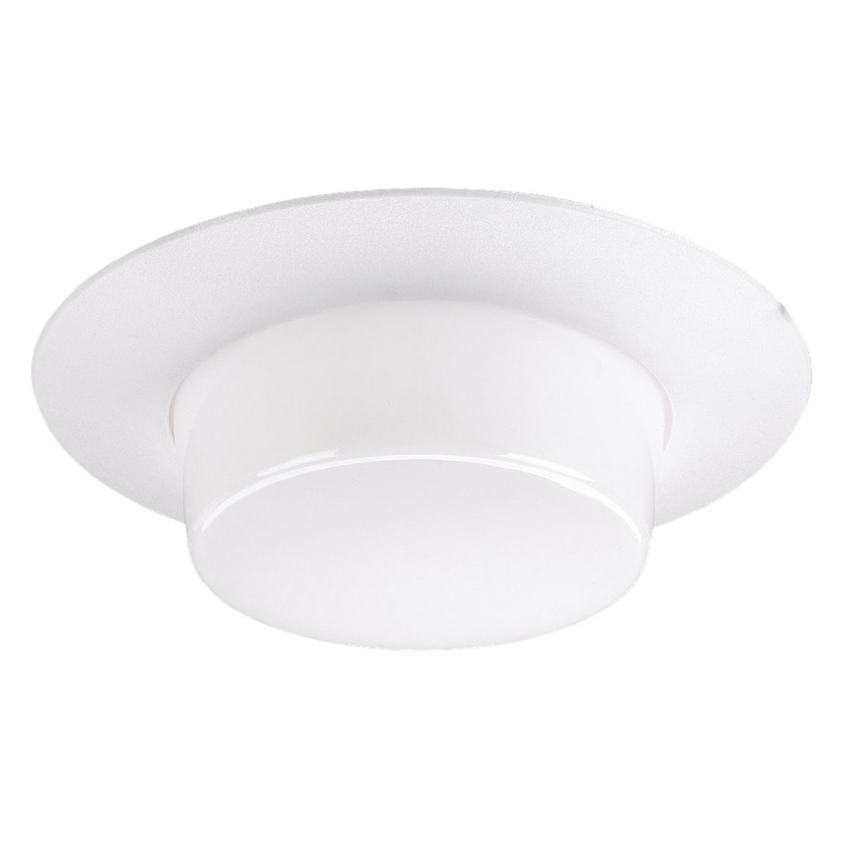 Sea Gull Lighting Signature Recessed Trim Only in White Plastic 1134-68 photo