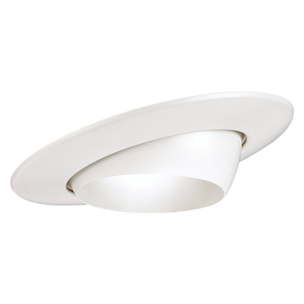 Sea Gull Lighting Signature Recessed Trim Only in White 1136-15 photo