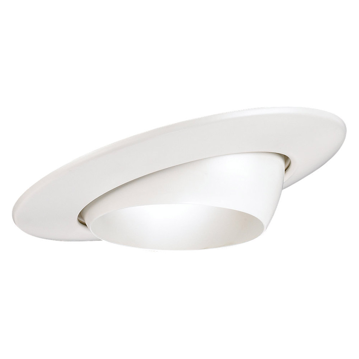 Sea Gull Lighting Signature Recessed Trim Only in White 1136AT-15 photo