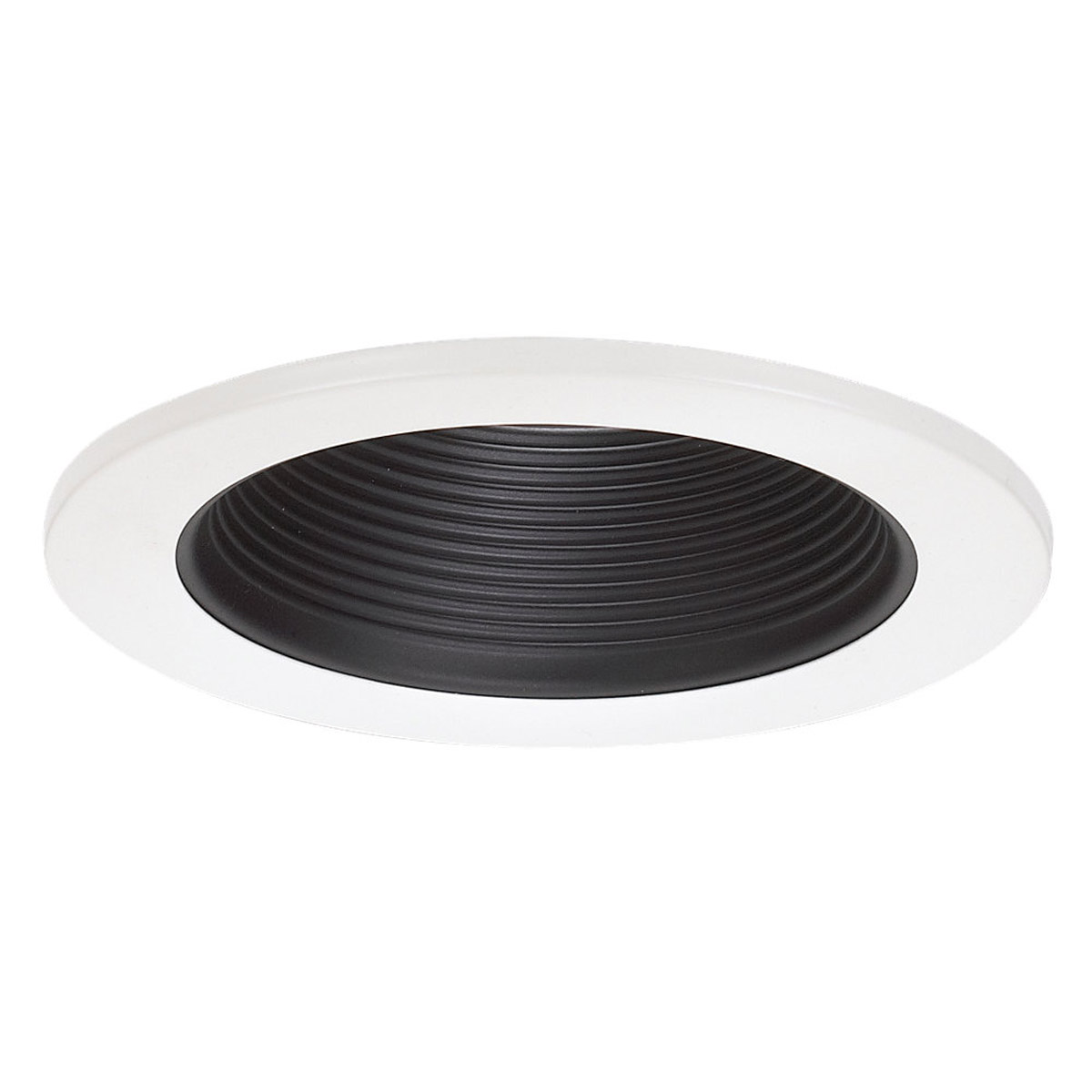 Sea Gull 1156AT-15 Signature White and Black Recessed Trim in Black Baffle photo