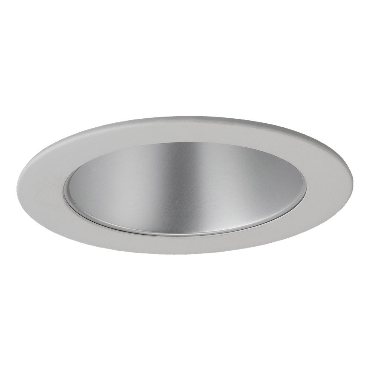 Sea Gull Lighting Signature Recessed Trim Only in Satin Nickel - White 1162AT-861