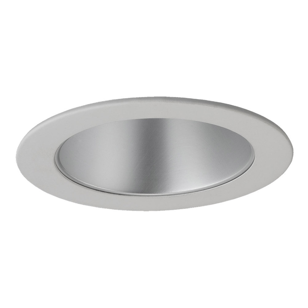 Sea Gull Lighting Signature Recessed Trim Only in Satin Nickel - White 1232AT-861