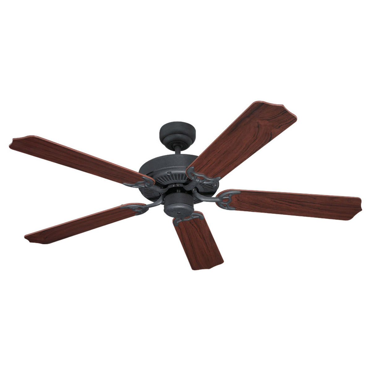 Sea Gull 15030-07 Quality Max 52 inch Weathered Iron Ceiling Fan in Standard photo