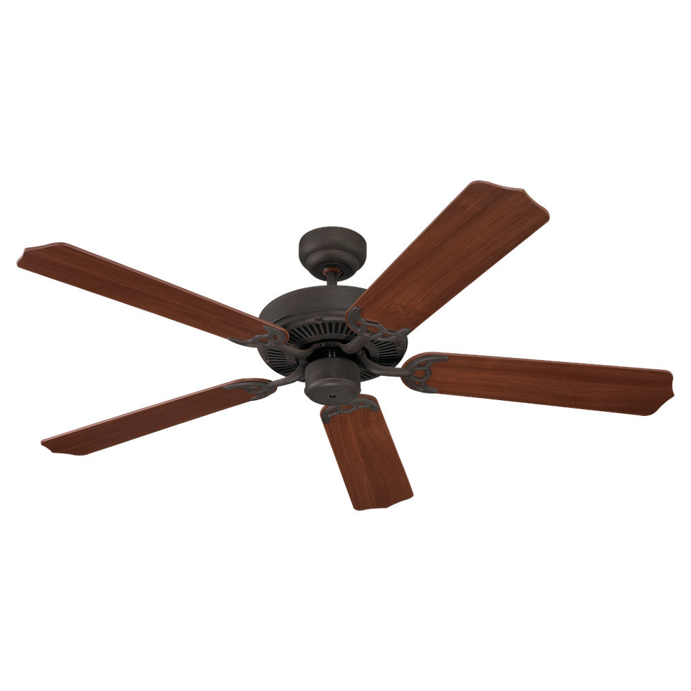 Sea Gull Lighting 52in Quality Max Ceiling Fan in Misted Bronze 15030-814