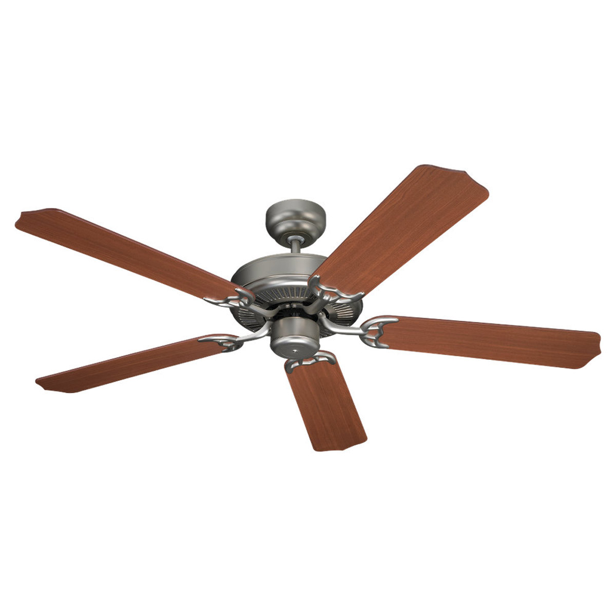 Sea Gull Lighting Quality Max Indoor Ceiling Fan in Golden Pewter 15030-853