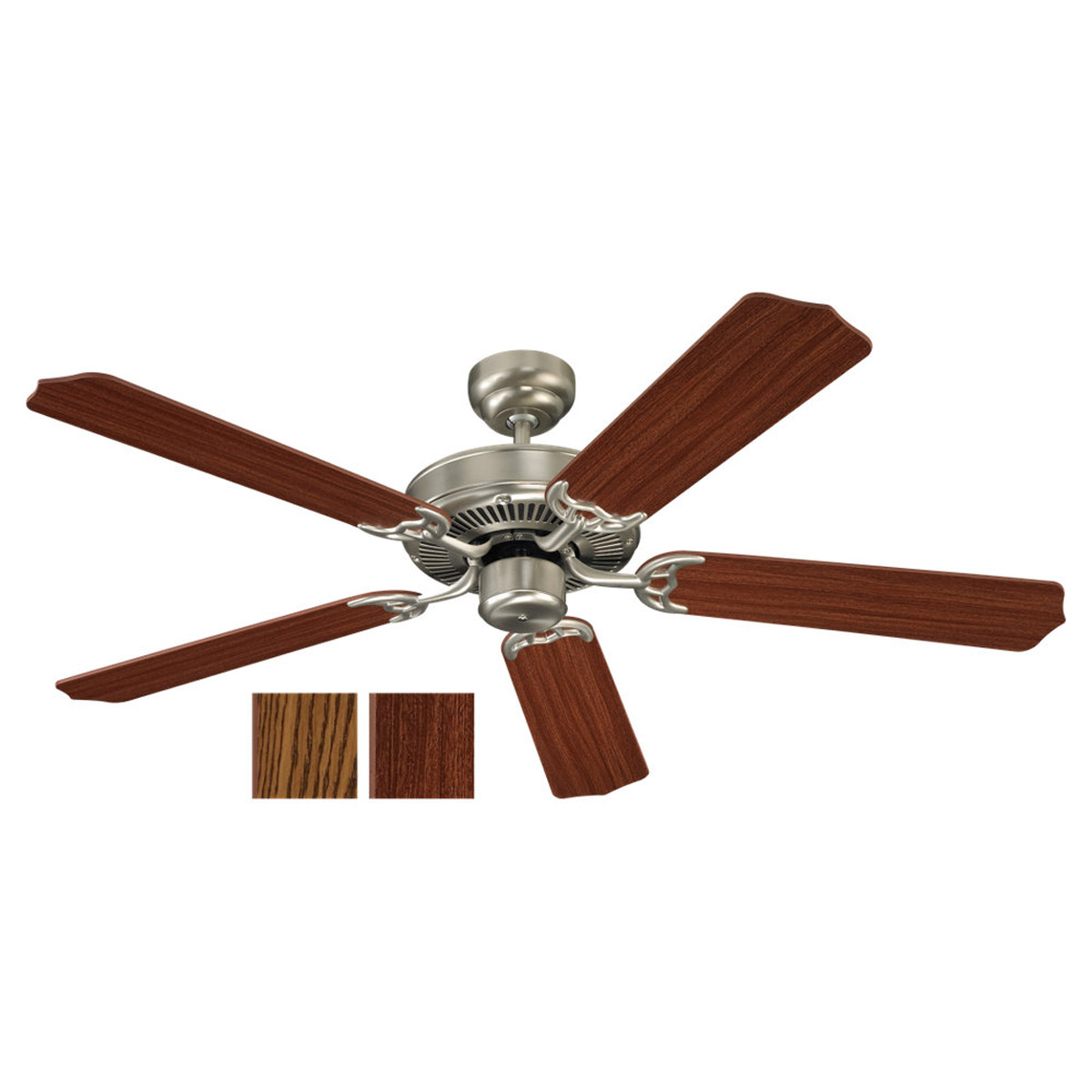 Sea Gull Lighting 52in 5 Blade Fan in Brushed Nickel 15030-962