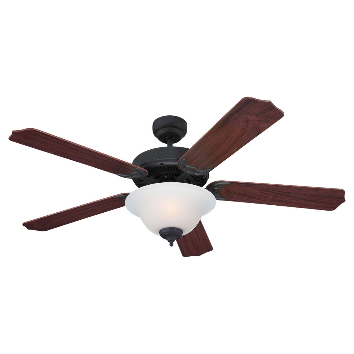 Sea Gull 15030BLE-07 Quality Max Plus 52 inch Weathered Iron Ceiling Fan in Fluorescent photo