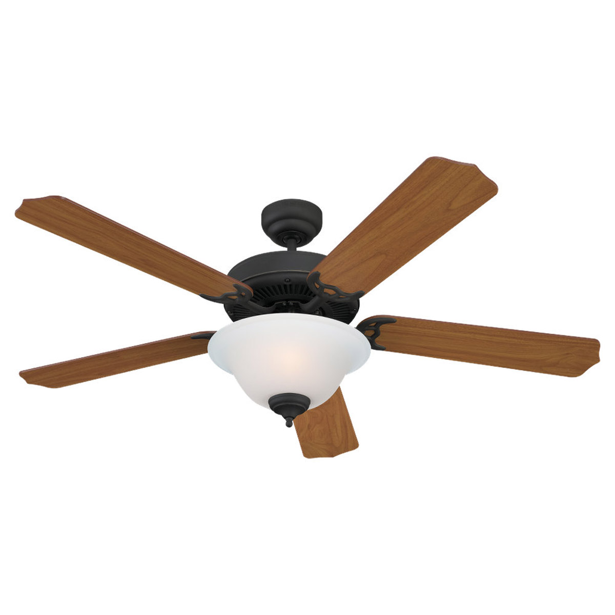 Sea Gull Lighting 2 Light 52in Quality Max Plus Ceiling Fan in Antique Bronze 15030BLE-71