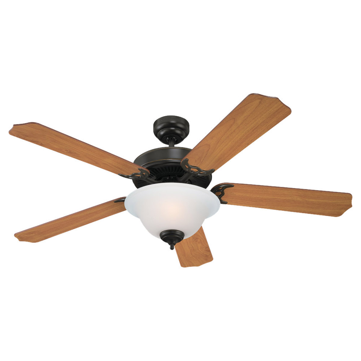 Sea Gull Lighting 2 Light 52in Quality Max Plus Ceiling Fan in Heirloom Bronze 15030BLE-782