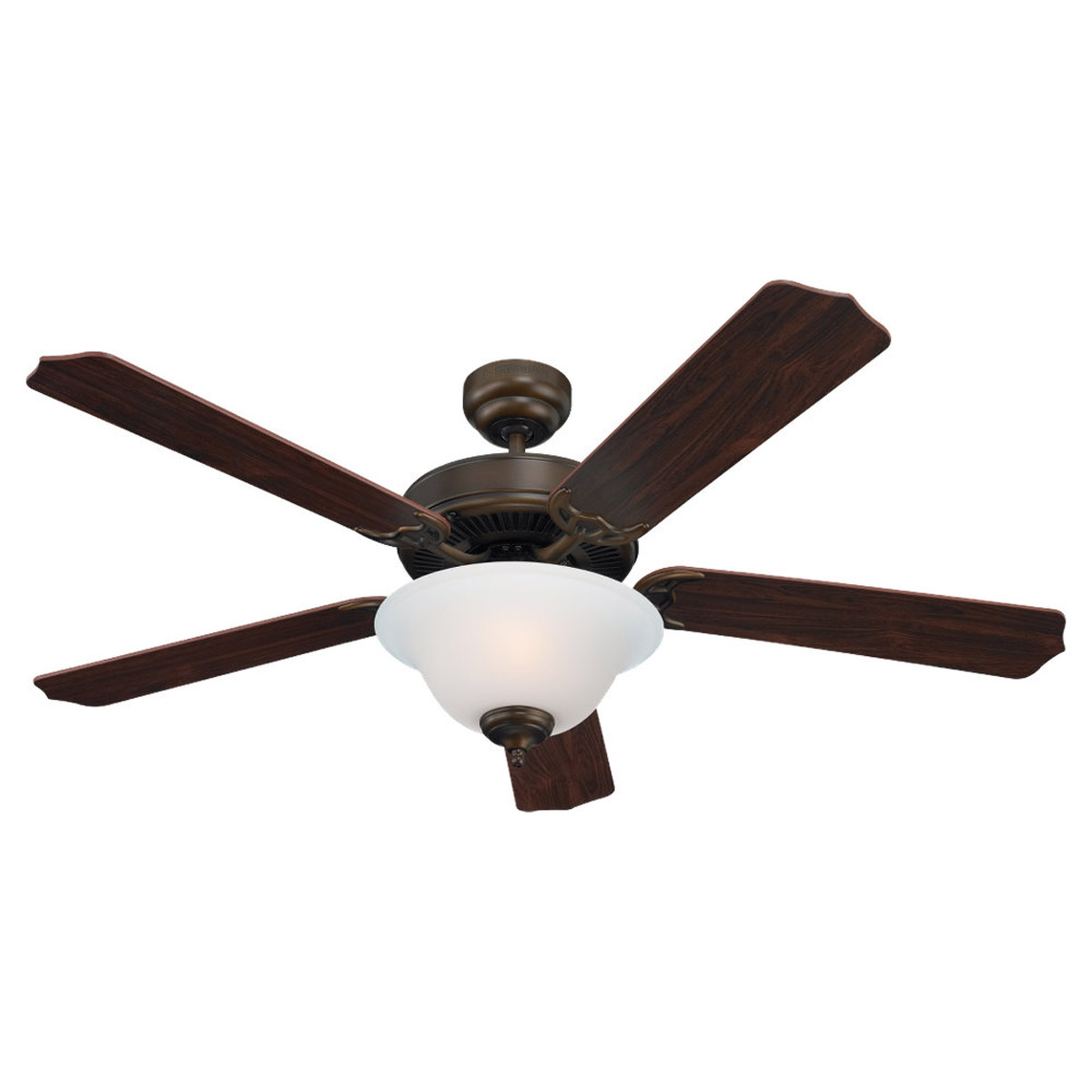 Sea Gull Lighting 2 Light 52in Quality Max Plus Ceiling Fan in Russet Bronze 15030BLE-829 photo