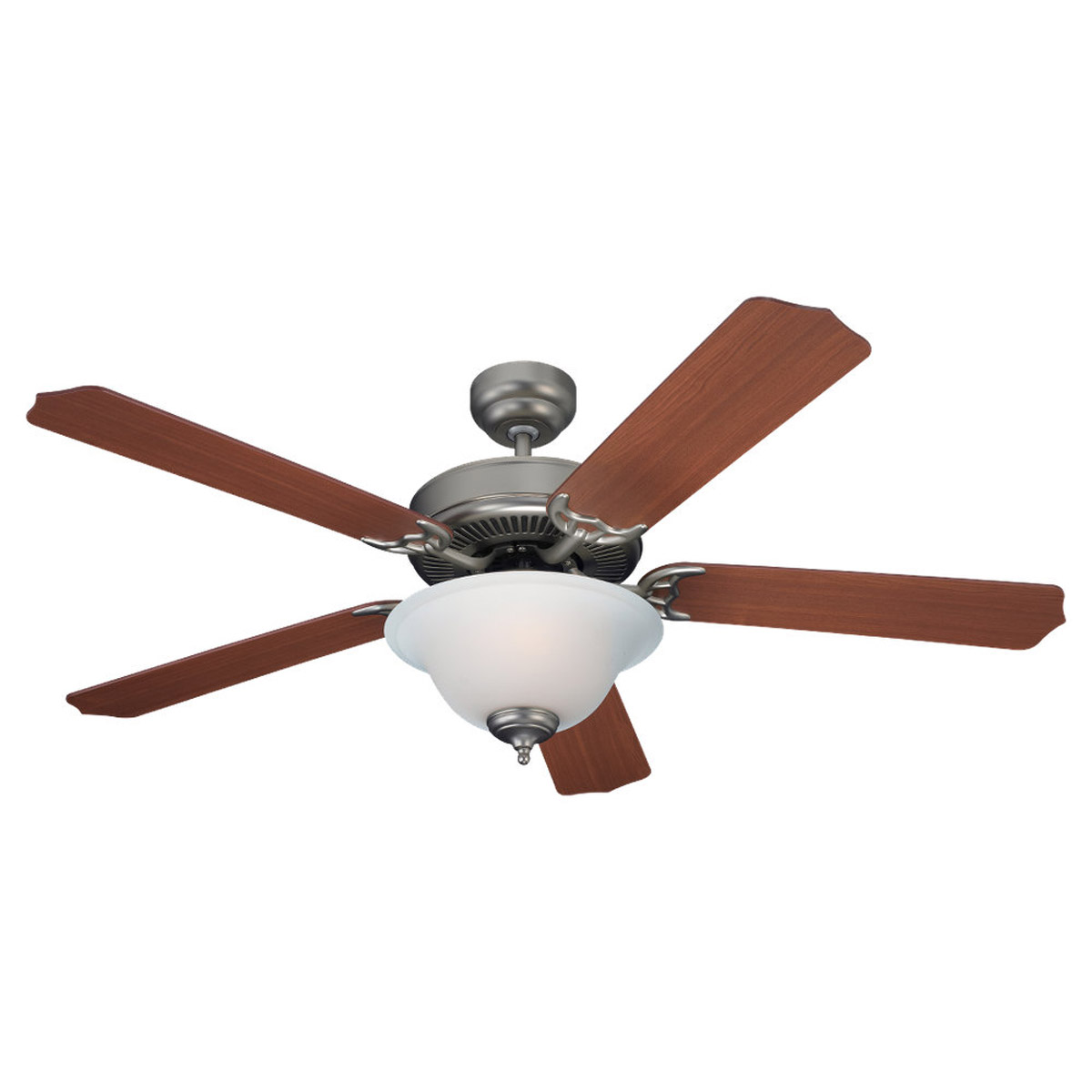 Sea Gull Lighting Quality Max Plus 2 Light Fluorescent Ceiling Fan in Golden Pewter 15030BLE-853