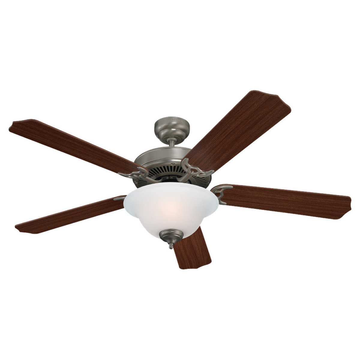 Sea Gull 15030BLE-962 Quality Max Plus 52 inch Brushed Nickel Ceiling Fan in Fluorescent photo