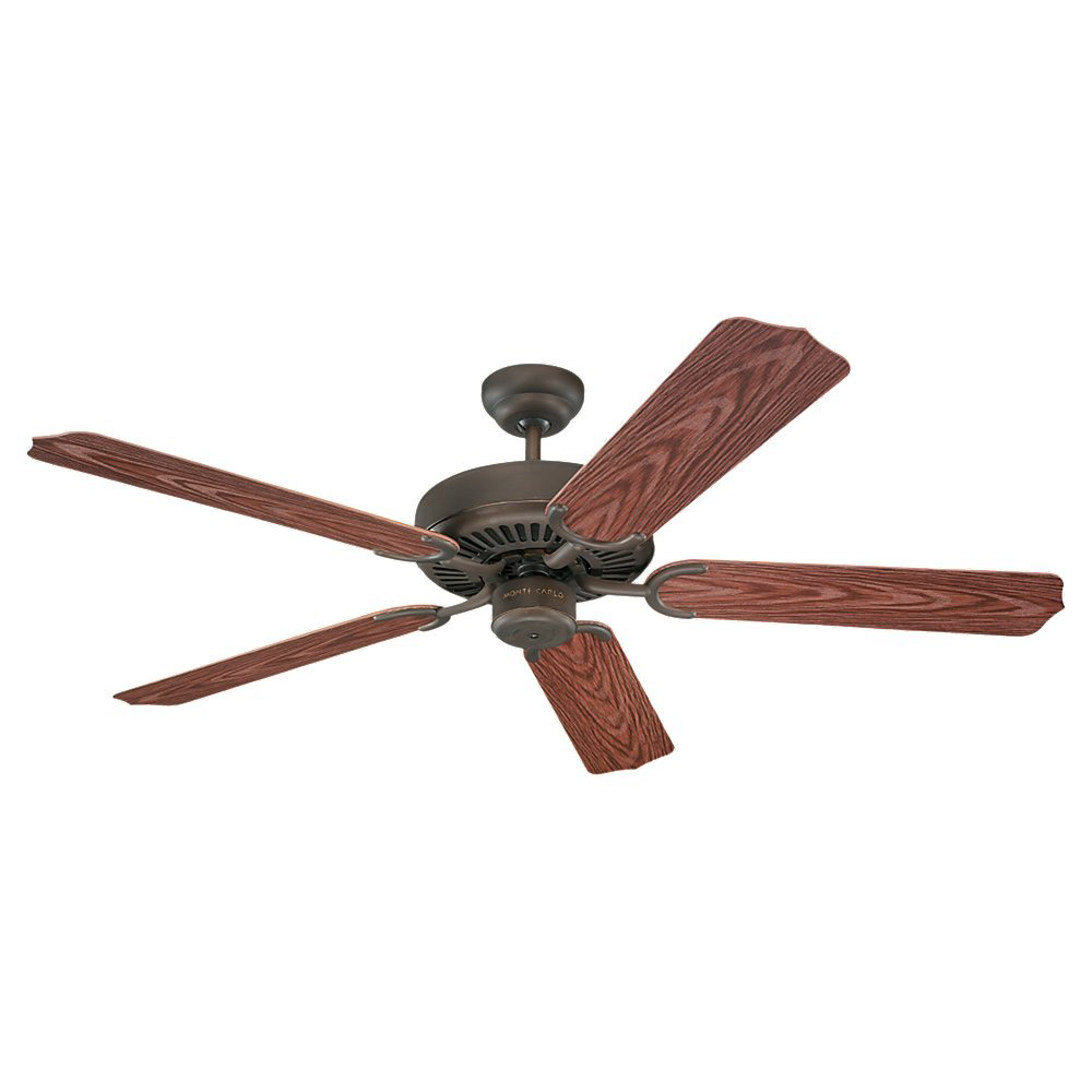 Sea Gull Lighting Panorama 52in Outdoor Ceiling Fan in Roman Bronze 15046-191