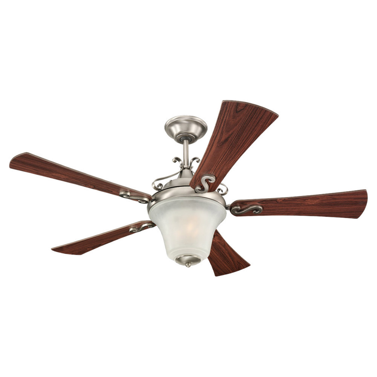 Sea Gull Lighting 3 Light 52in Parkview Ceiling Fan in Antique Brushed Nickel 15082B-965 photo