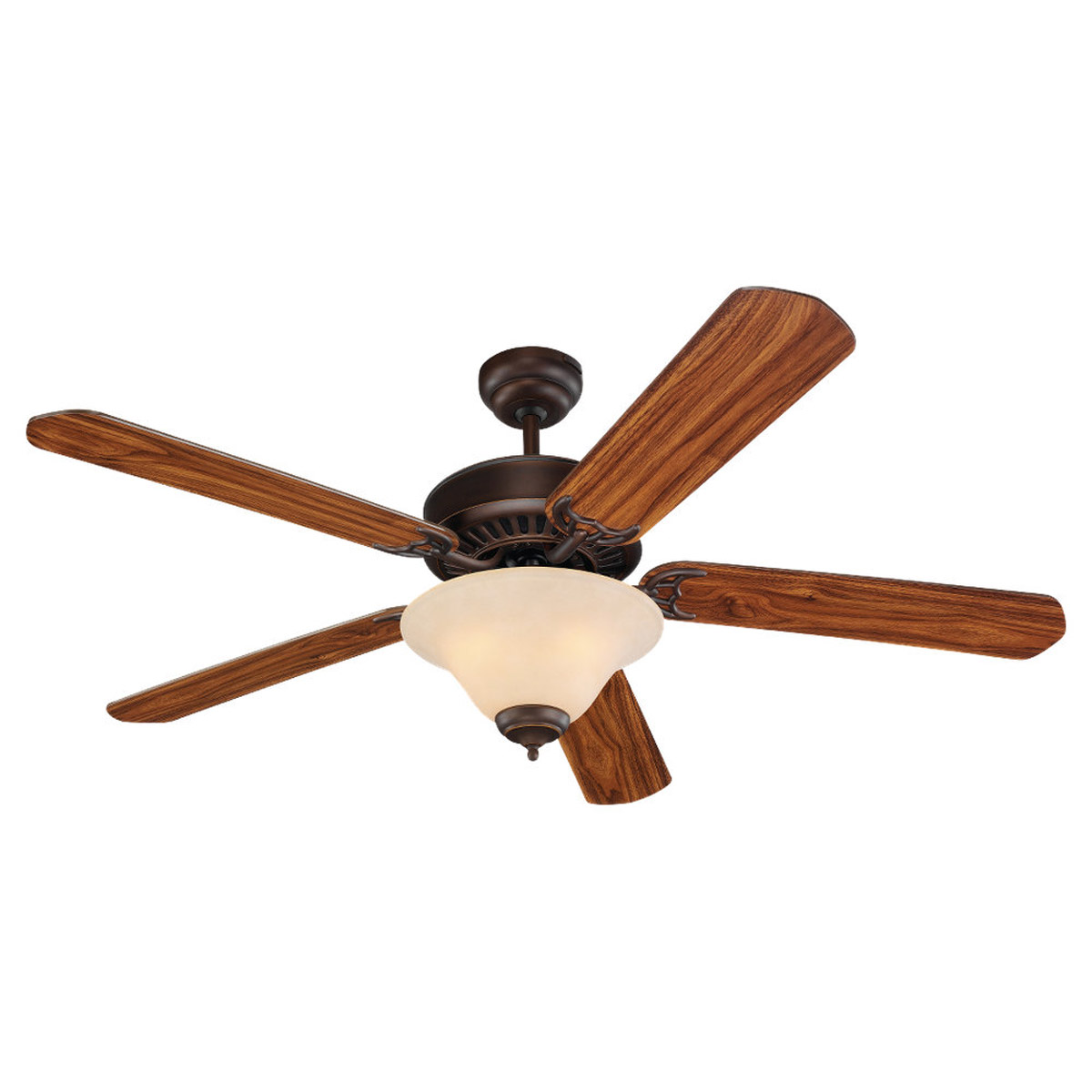 Sea Gull Lighting 3 Light 52in Quality Pro Deluxe Ceiling Fan in Roman Bronze 15161B-191