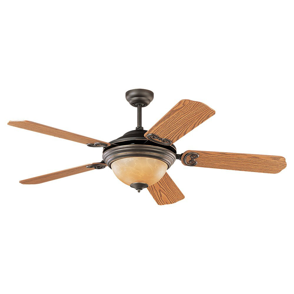 Sea Gull Lighting Park Avenue Elite 3 Light Ceiling Fan in Antique Bronze 15190BLE-71