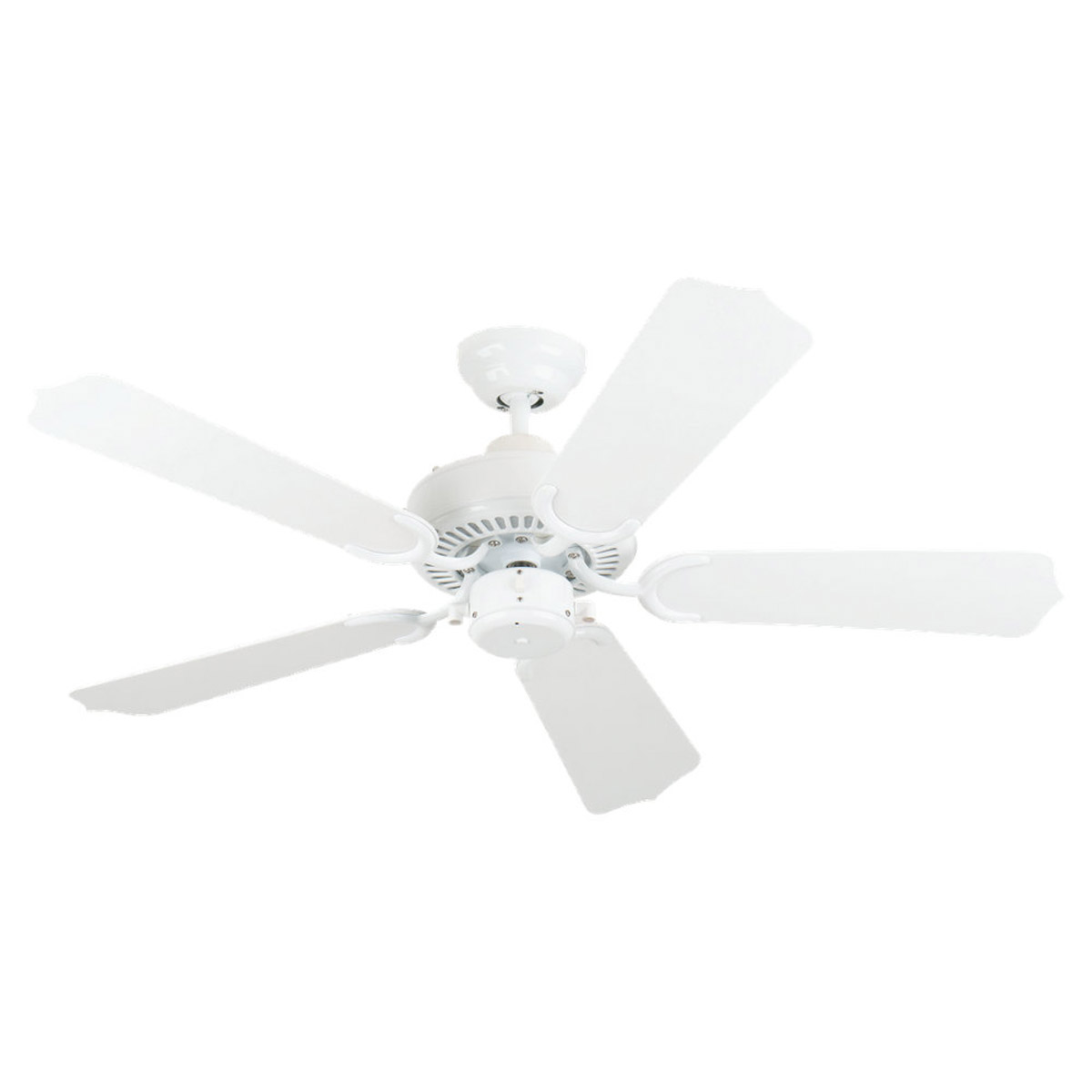 Sea Gull Lighting Bayou 42in Outdoor Ceiling Fan in White 1525-15