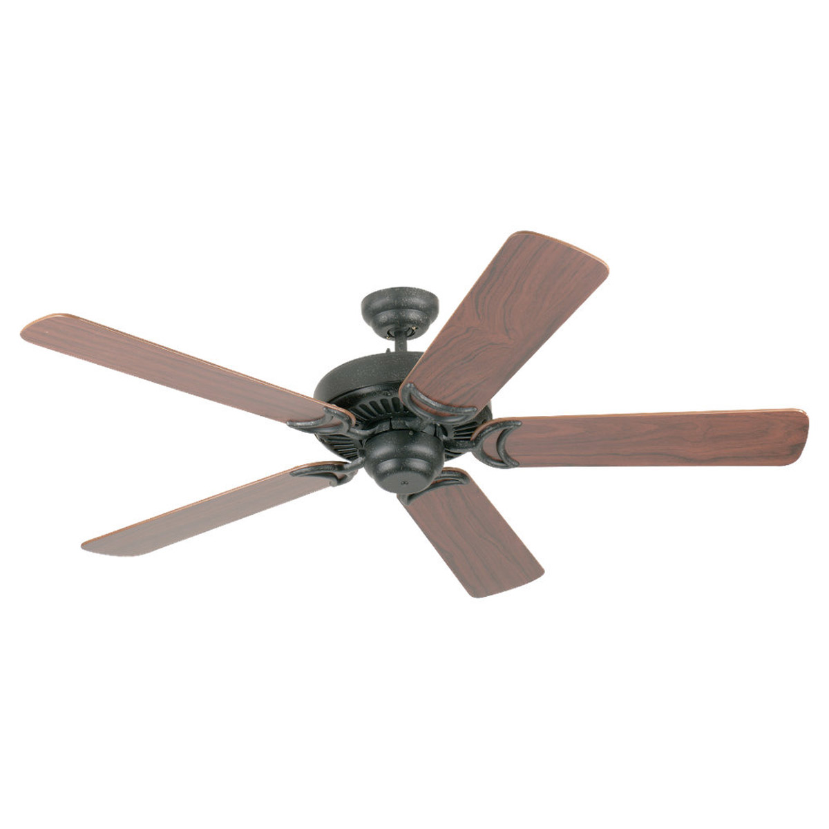 Sea Gull Lighting 52in Celebrity Deluxe Ceiling Fan in Weathered Iron 1535-07