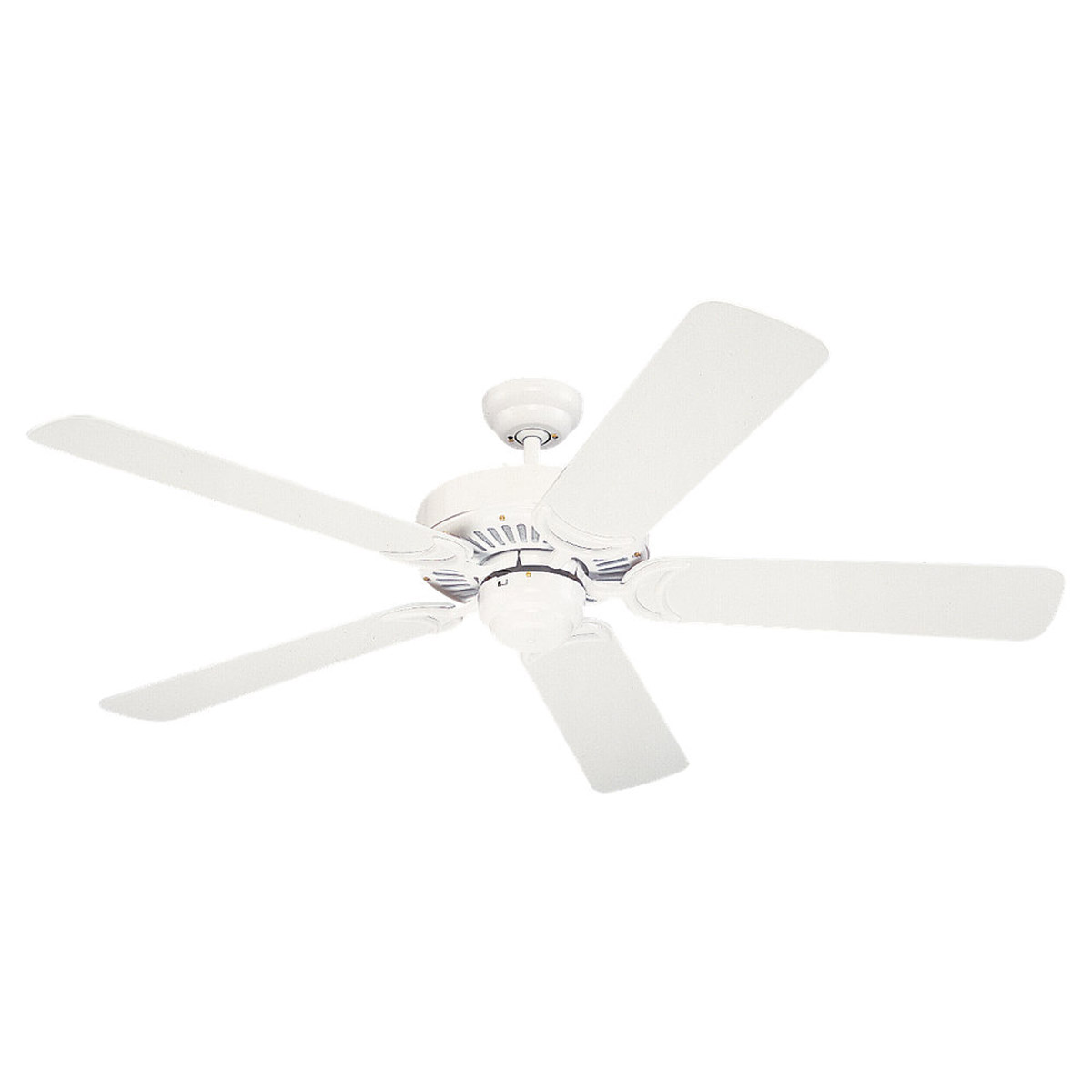 Sea Gull Lighting 52in Celebrity Deluxe Ceiling Fan in White 1535-15