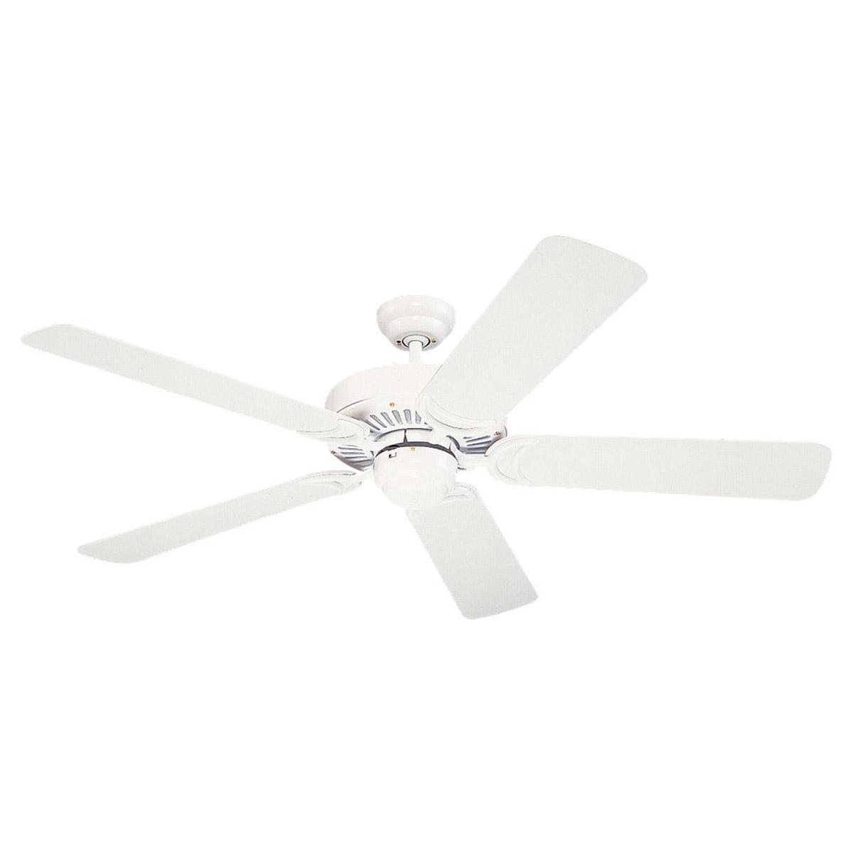 Sea gull lighting 52in celebrity deluxe ceiling fan in white 1535 15 aloadofball Images