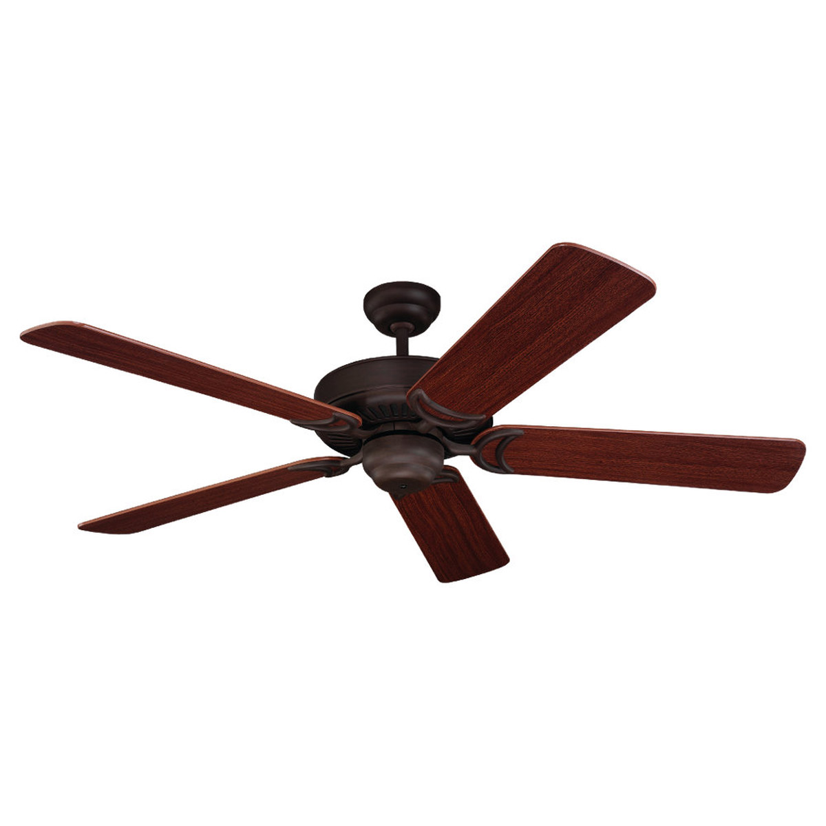 Sea Gull Lighting Celebrity Deluxe Indoor Ceiling Fan in Olde Iron 1535-72