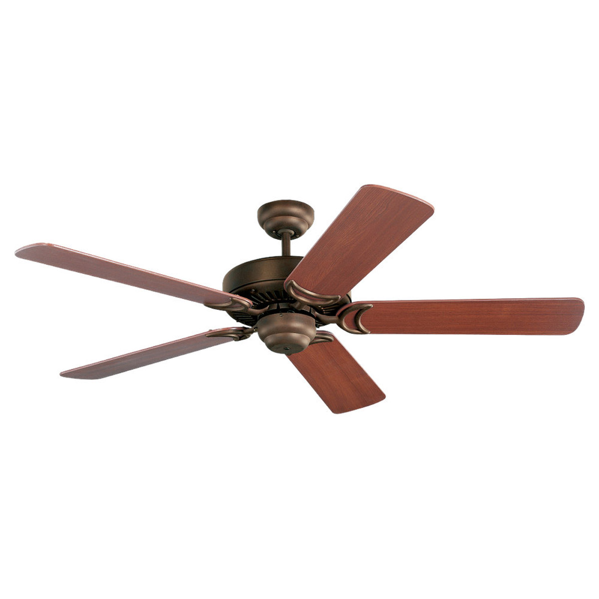 Sea Gull Lighting 52in Celebrity Deluxe Ceiling Fan in Misted Bronze 1535-814 photo