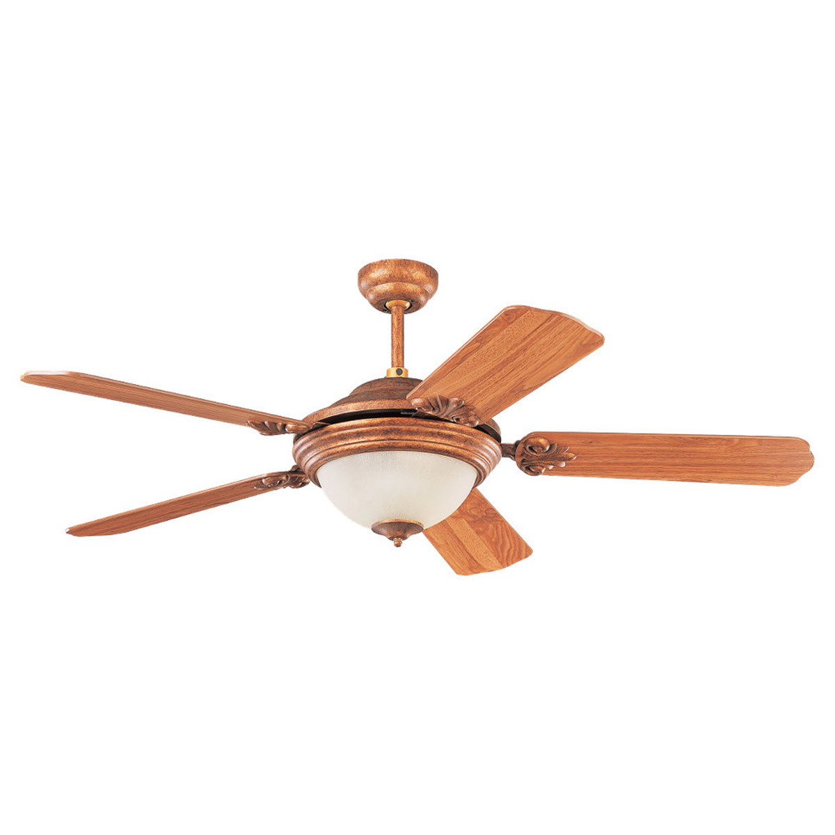 Sea Gull Lighting 3 Light 52in Highlands Ceiling Fan in Regal Bronze 15358B-758