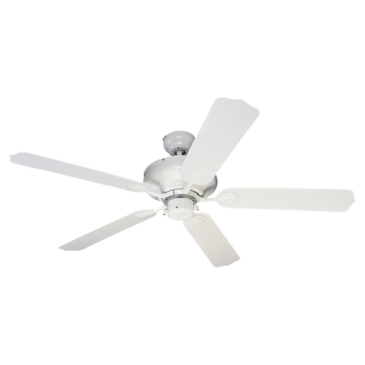 Sea Gull Lighting Long Beach 52in Outdoor Ceiling Fan in White 1540-15