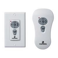 Sea Gull Lighting Ceiling Fan Controler Remote Wall/Handheld Combo in White 16005-15 (Receiver Not Included)