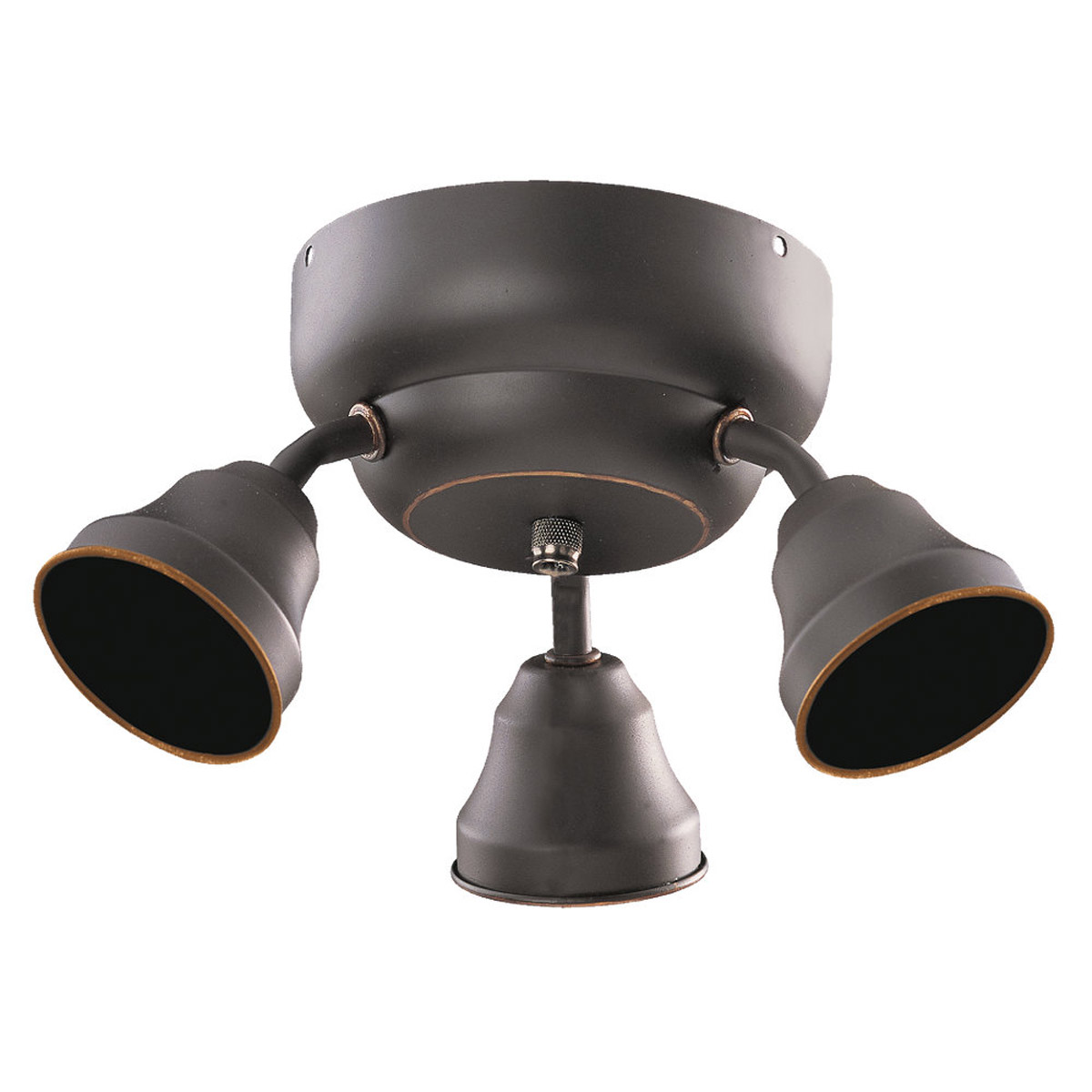 Sea Gull Lighting Signature 3 Light Fan Light Kit Fluorescent in Heirloom Bronze 16024BLE-782 photo