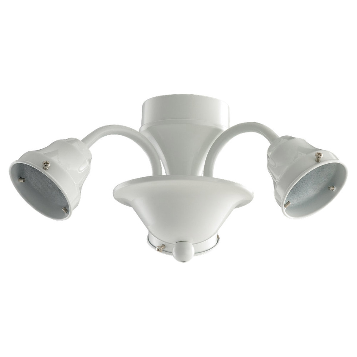Sea Gull Lighting Signature 3 Light Fan Light Kit in White 16122B-15