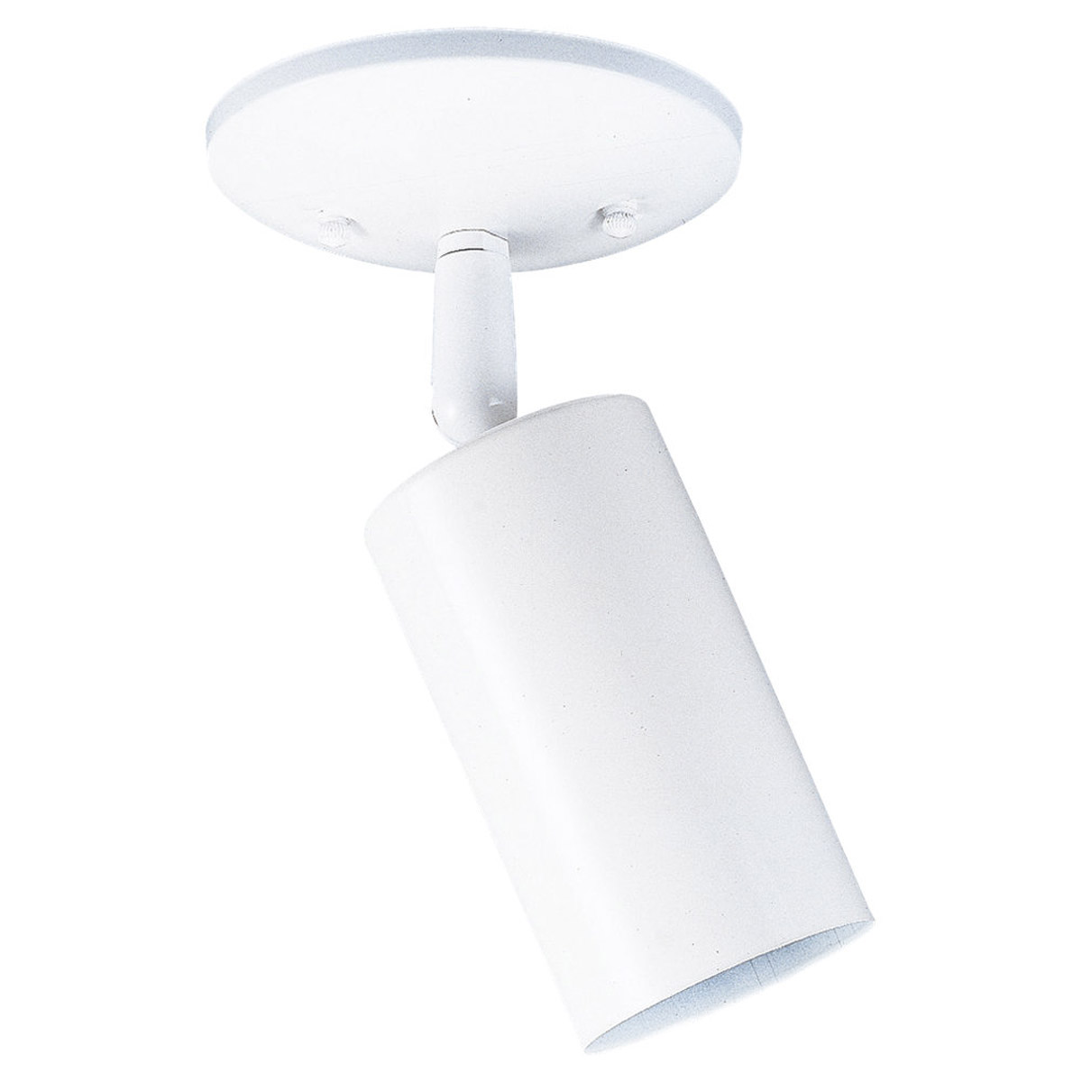 Sea Gull Lighting Bullets 1 Light Directional Ceiling Light in White 2011-15