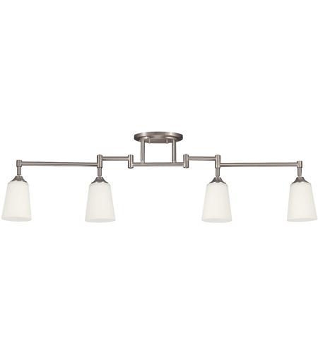 Signature 4 Light 120v Brushed Nickel Track Lighting Kit Ceiling