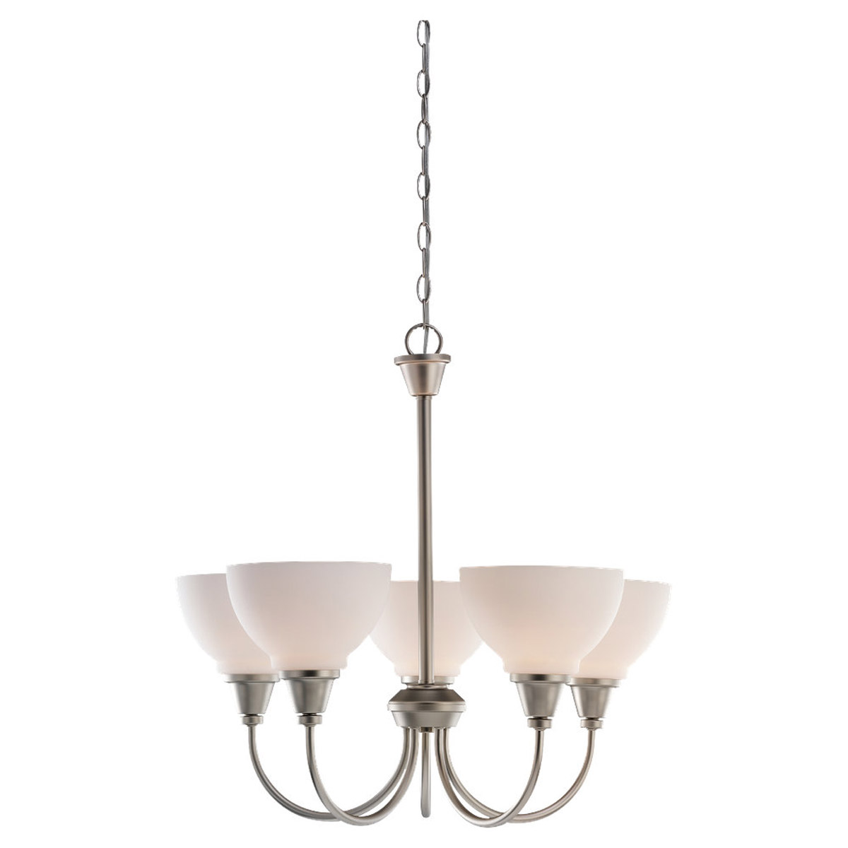 Sea Gull Lighting Sydney 5 Light Chandelier in Golden Pewter 31746-853