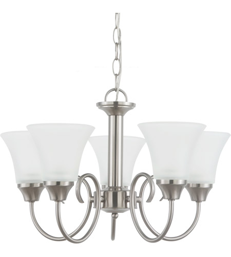 Sea Gull 31808-962 Holman 5 Light 20 inch Brushed Nickel Chandelier Ceiling Light photo