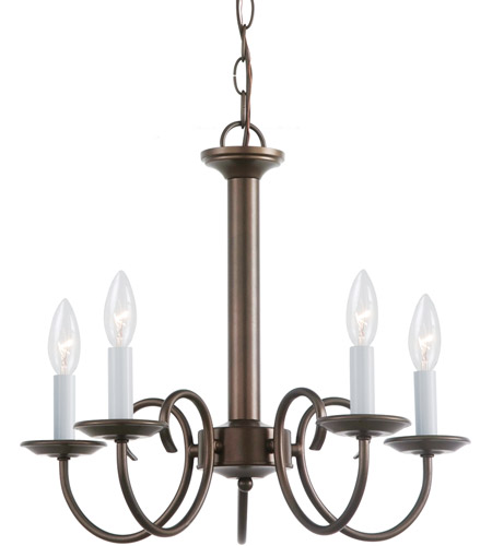 Sea Gull 31809-827 Holman 5 Light 18 inch Bell Metal Bronze Chandelier Ceiling Light photo