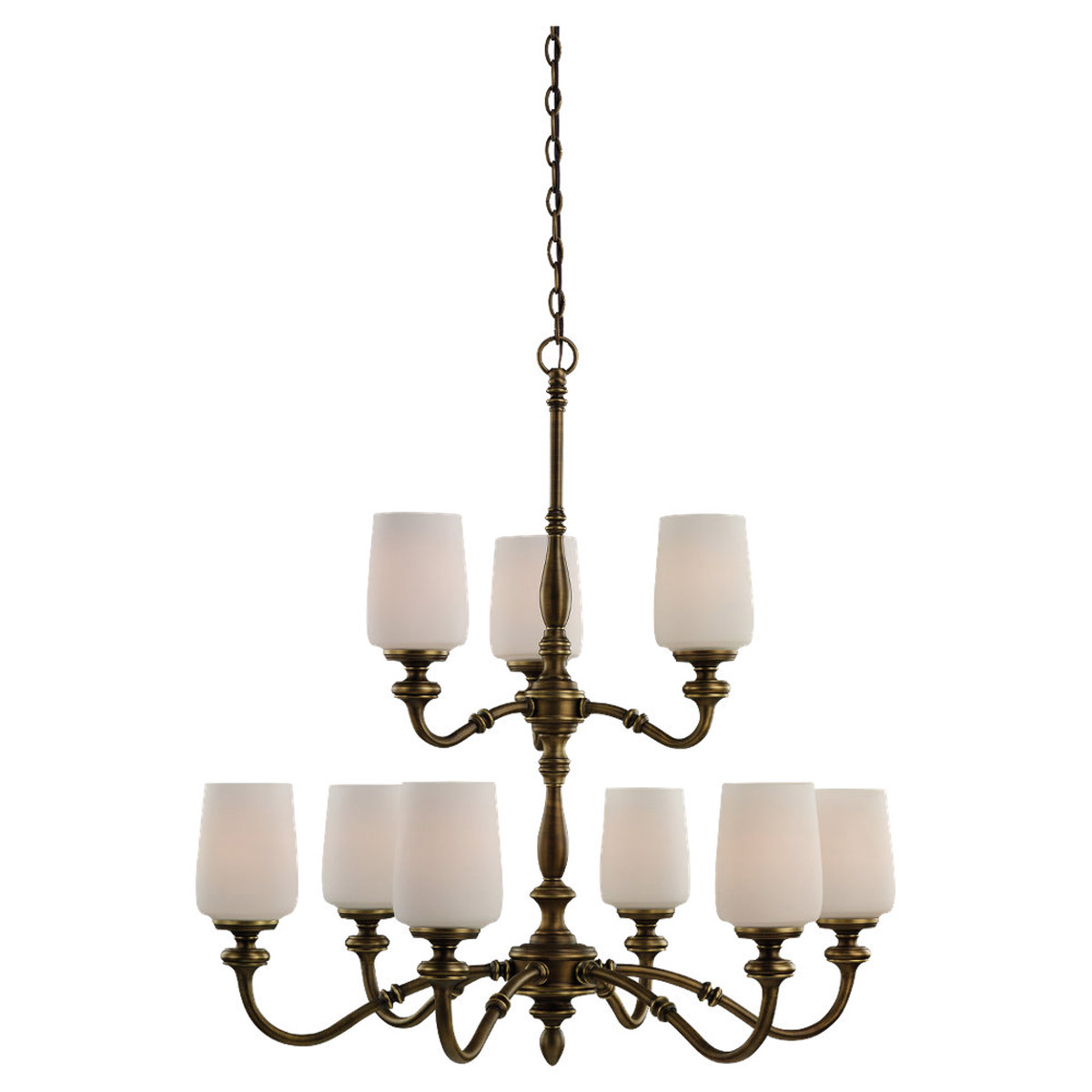 Sea Gull Lighting Montecristo 9 Light Chandelier in Aged Bronze 31888-898 photo