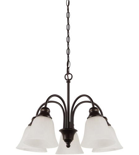 Sea Gull 35950-782 Windgate 5 Light 20 inch Heirloom Bronze Chandelier Ceiling Light in Standard photo