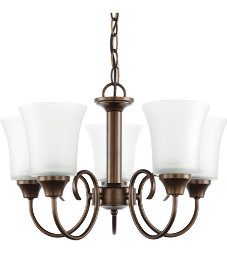 Sea Gull 39808BLE-827 Holman 5 Light 20 inch Bell Metal Bronze Chandelier Ceiling Light photo